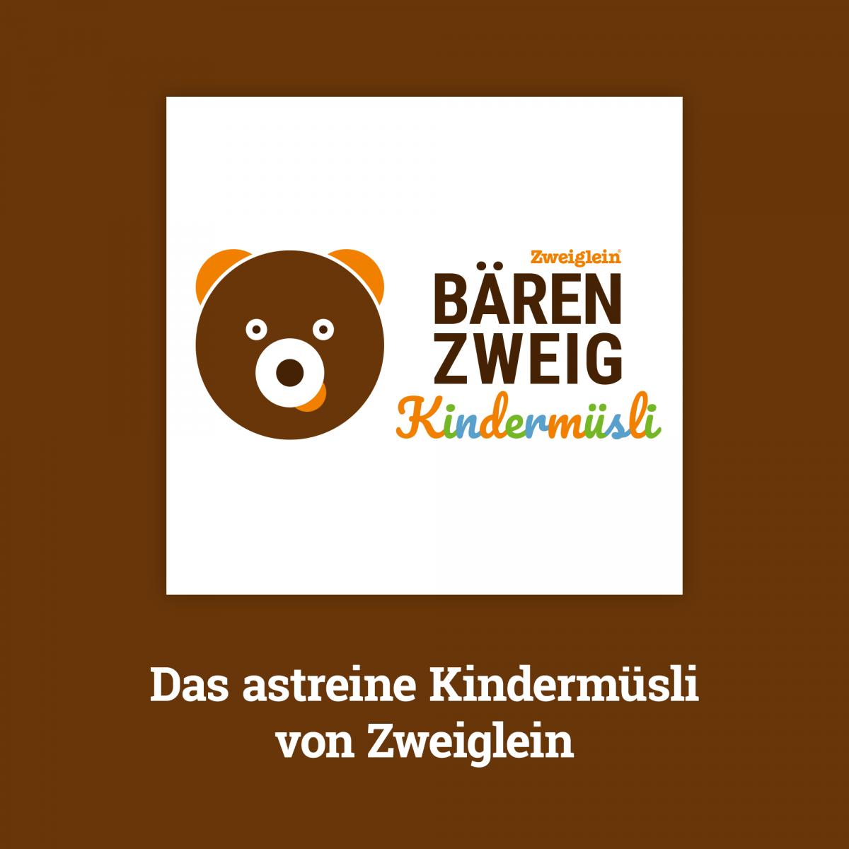 BÄRENZWEIG Bio Kindermüsli von Zweiglein