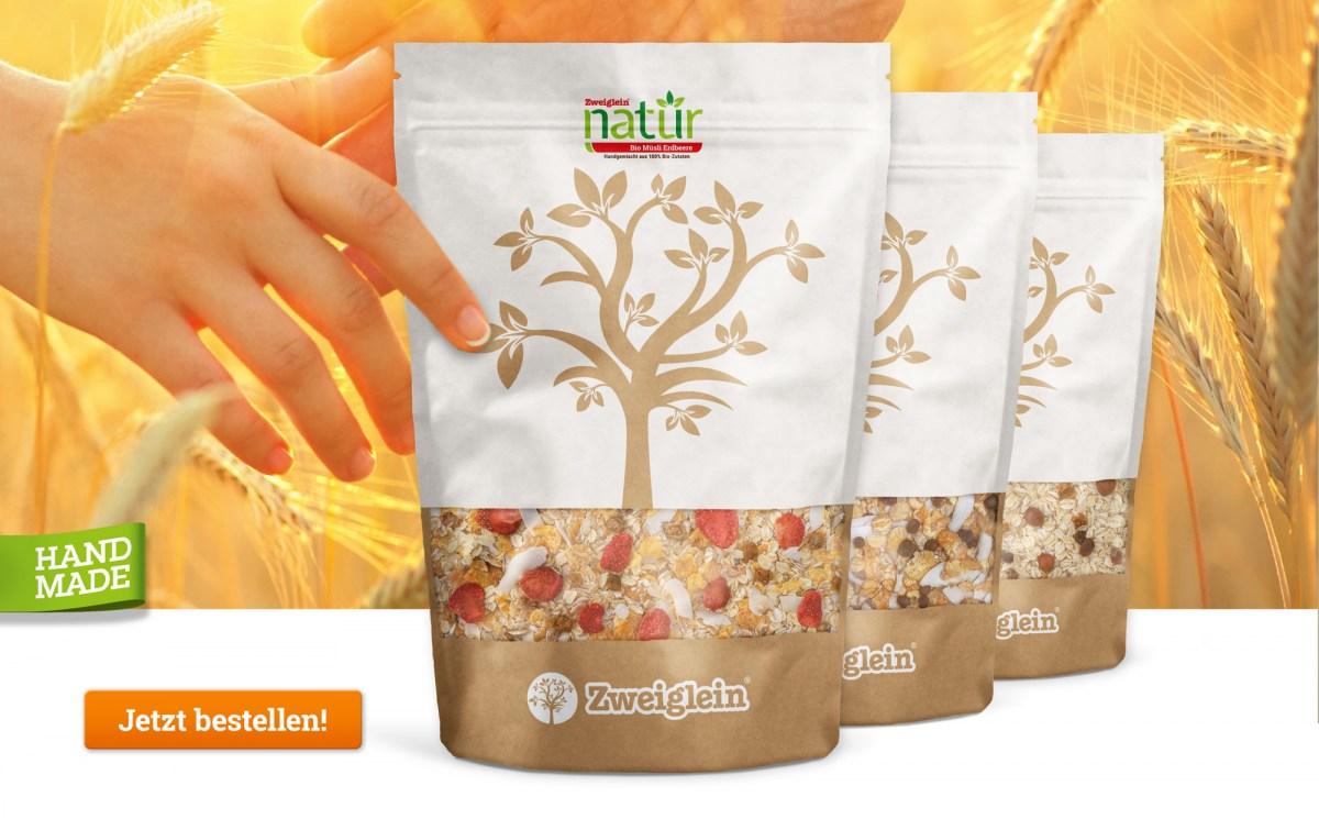 Zweiglein Natür Bio Müsli - Produktübersicht