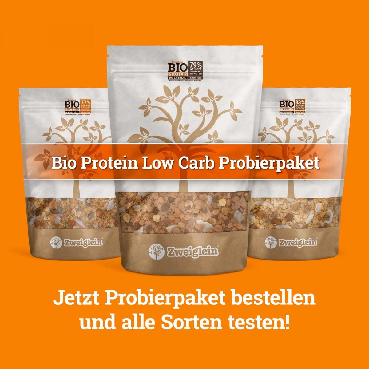 Zweiglein Bio Protein Low Carb Müsli