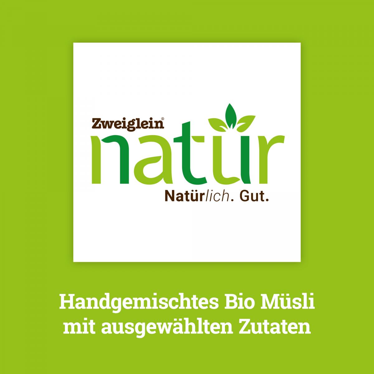 Handgemischtes Zweiglein Natür Bio Müsli